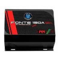 Fonte Carregador Bateria Automotiva Jfa 150a 7000w Automatica Bivolt Display Digital