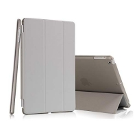 Capa Smart Case Ipad Air Apple A1474 A1475 A1476 Completa Sensor Sleep Cinza
