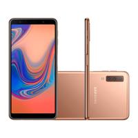 Smartphone Samsung Galaxy A7 SM-A750G Desbloqueado GSM Dual Chip 128GB Android 8.0 Cobre