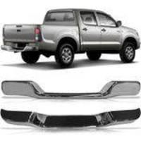 Parachoque Traseiro Hilux SRV 2002 2003 2004 2005 Cromado - Automotive imports