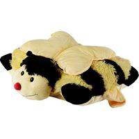 Travesseiro de Pelúcia Pillow Pets Abelha 9911 Bege