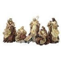 Presépio Magizi Plus Seda 6 Figuras 41 cm Marron / Dourado New 18844