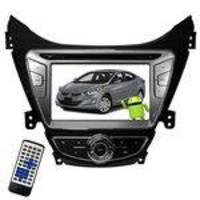 Central Multimídia Para Hyundai Elantra 2011 M1 M7095 LCD Touch Screen - Preto-p
