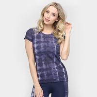 Camiseta Memo Crepe Tie Dye - Feminino