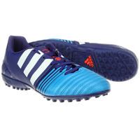 Chuteira Adidas Nitrocharge 4.0 TF Society Masculina Roxa e Azul ... 5b2aec356f4f3