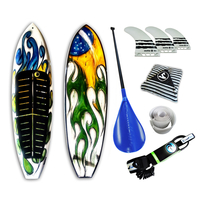 Prancha Soul Fins Stand Up Paddle Brasil 10 0 Acessórios Multicolorido