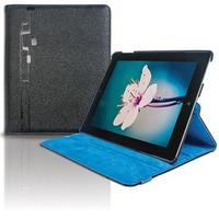 Case para iPad 2 Youts Iturn 360º Couro Azul