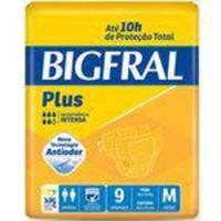 Fralda Geriátrica Bigfral Plus ( Tam. M - Pct C/ 09 Unds. ) - Bigfral