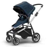 Carrinho De Bebê Thule Sleek Navy Azul