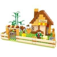 Blocos de Montar Bee Me Toys Bee Blocks Vida na Fazenda 243 Peças