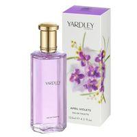 April Violets Yardley Perfume Feminino Eau De Toilette 125ml