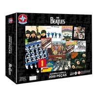 Quebra-Cabeça Estrela The Beatles 2000 Peças