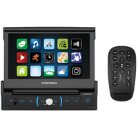 Dvd Automotivo Pósitron Sp6730dtv Lcd 7 Retrátil Touch Bluetooth