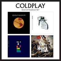 Box Coldplay Catalogue Set Parachutes + A Rush Of Blood To The Head + X & Y + Viva La Vida