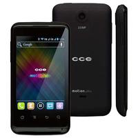 Celular Desbloqueado CCE Motion Plus SK351 Desbloqueado GSM Dual Chip Preto