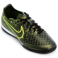 175a881952 Chuteira Nike Magista Onda IC Futsal Masculino Musgo e Verde Limão ...