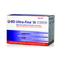 Agulha Insulina BD Ultra-Fine 5mm 100 Unidades