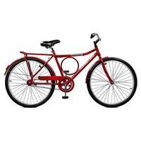 Bicicleta 26 Super Barra Contrapedal Aro 26 Vermelho Master Bike