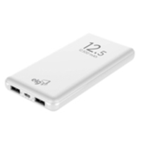 Power Bank Traveller 12500mah + Cabo Micro Usb Elg Pb125 Branco
