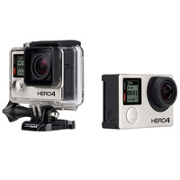 Câmera Digital GoPro Hero4 Black Edition Adventure 12MP CHDHX-401-BR Cinza