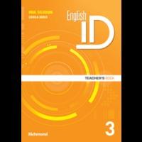 English Id 3 - Teacher´s Book