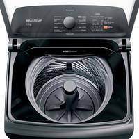 Máquina de Lavar Brastemp BWK12A9BNA 12Kg Titânio 220V