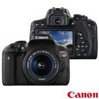 Câmera Canon DSLR Eos Rebel T6i 24.2MP Preta