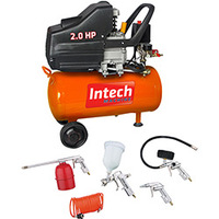 Compressor de Ar Plus Intech Machine CE325 Laranja