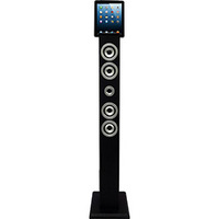 Dock Station Smartphone Vizio Tower com Bluetooth Entradas Auxiliar e Vídeo Preto