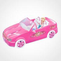 Carrinho Super Conversível Fashion Rosa Líder Brinquedos Diversos