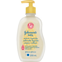 Sabonete Liquido Johnsons Baby Recém Nascido 200ml