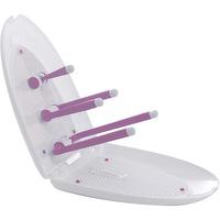 Escorredor de Mamadeira Litaf Hold & Fold Premium Pink