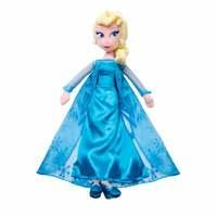 Boneca de Pelúcia Frozen Elsa Long Jump 50cm