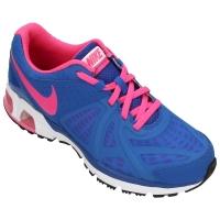 68d58d0fa9a Tênis Nike Air Max Run Lite 5 Juvenil Feminino Azul e Rosa