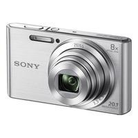 Câmera Digital Sony Cyber-shot DSC-W830 20.1 MP Prata