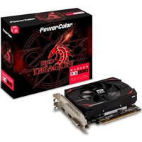 Placa de Vídeo Power Color Radeon RX 550 2GB AXRX 2GB64BD5-DH