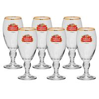 Conjunto Taças Stella Artois Cerveja Crisal de 6 peças