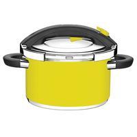 Panela de Pressão Tramontina Presto Design Collection 6 Litros Amarela