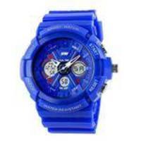 Relógio Masculino Skmei Anadigi 0966 Azul