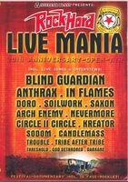 Rock Hard Live Mania - Multi-Região / Reg. 4