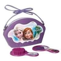Kit Passeio Frozen Bolsa + Escova e Espelho 2505 Rosita