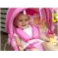 Cadeira de Descanso Safety 1st Bouncer Sunshine Baby Pink Garden