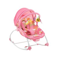 Cadeira de Descanso Safety 1st Bouncer Sunshine Baby Pink Garden