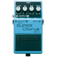 Pedal Para Guitarra Boss Super Chorus CH 1