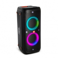 JBL Party Box 200 Caixa de Som Portátil Bluetooth LED USB 120 Wrms Preto