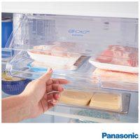 Refrigerador Panasonic NR-BT51PV3X Frost Free 435 Litros Aço Escovado