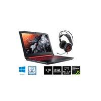 Notebook Acer Aspire Nitro 5 AN515-51-50U2 i5-7300HQ 8GB 1TB 2.5GHz 15.6 Windows 10 Preto e Vermelho + Headset