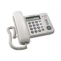 Telefone Com Fio Panasonic KX-TS580LX Branco + Bina