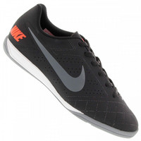 Chuteira de Futsal Nike Beco 2 Ic Preto e Cinza