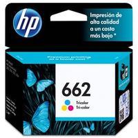 Cartucho de Tinta HP 662 CZ104AB Tricolor